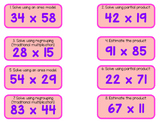 2-Digit Multiplication: Area Model, Partial Product, Tradtitional Multiplication