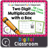2 Digit Multiplication QR Code Check Area Model Google Cla