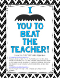 2 Digit Multiplication Beat the Teacher 4.NBT.5/5.NBT.5