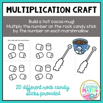 2 Digit Multiplication Craftivity