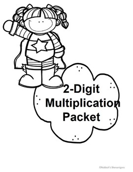 2-Digit Multiplication Packet