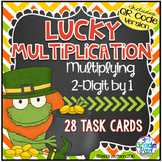 2-Digit Multiplication  QR Code Task Cards