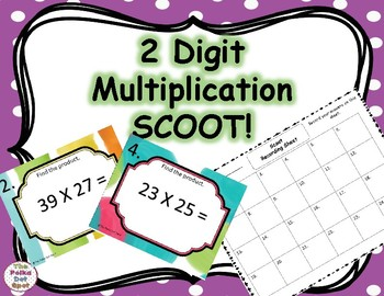 2 Digit Multiplication SCOOT