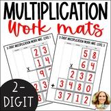 2 Digit by 2 Digit Multiplication Math Work Mats