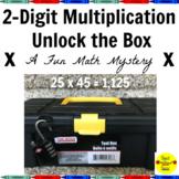 2-Digit Multiplication Unlock the Box: A Fun Math Mystery