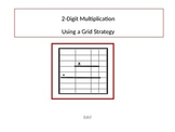 2-Digit Multiplication Using Grids Strategy with Student W