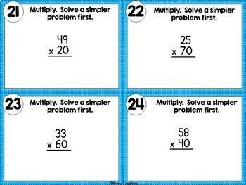 2-Digit Multiplication of Multiples of 10
