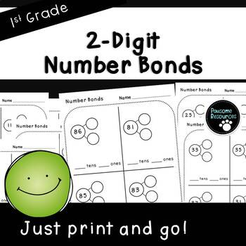 Number bond page teaching resources teachers pay teachers nbt2 2 digit number bonds pages first grade 1nbt2 ibookread PDF