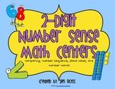 2-Digit Number Sense Math Centers
