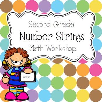 Second Grade Math Workshop 2-Digit Number String