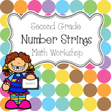 Second Grade Math Workshop 2-Digit Number String