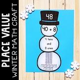 Winter Place Value Center 1st Grade Math Craft