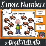2 Digit Numbers | Smore Themed Activity