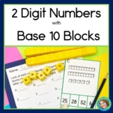 2 Digit Numbers with Base 10 Blocks