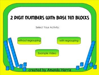 2-Digit Numbers with Base Ten Blocks
