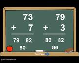 2 Digit Plus 1 Digit Addition PowerPoints+MatchingWkshts &Keys-BUNDLE of 3 PP's!