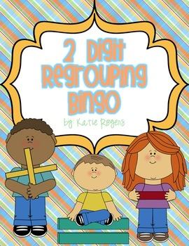 2 Digit Regrouping Bingo {Addition and Subtraction}