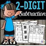 2 Digit Subtraction With Regrouping | 2 Digit Subtraction Without Regrouping