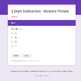 2-Digit Subtraction - Animals Mystery Picture - Google Forms