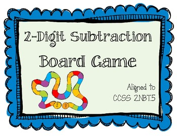 2-Digit Subtraction Board Game (2.NBT.5)