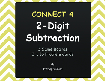 2-Digit Subtraction - Connect 4 Game
