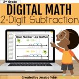 2-Digit Subtraction Digital- 2.NBT.5 Double Digit Subtract