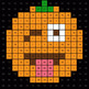 2-Digit Subtraction - EMOJI PUMPKIN Mystery Picture - Google Forms