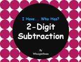 2-Digit Subtraction - I Have, Who Has