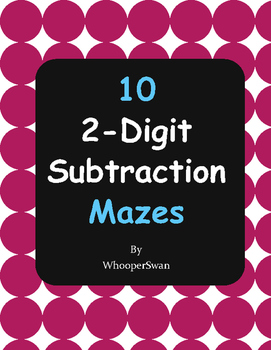2-Digit Subtraction Maze