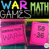2 Digit Subtraction Without Regrouping War Game