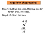 2-Digit Subtraction Posters - Common Core & enVisions 2.0