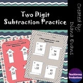 2 Digit Subtraction Practice