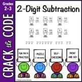 2-Digit Subtraction Practice ~ Crack the Code!