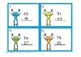 2 Digit Subtraction Regrouping Frogs Task Cards