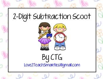 2-Digit Subtraction Scoot