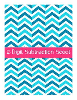 FREE 2-Digit Subtraction Scoot (Without Regrouping)