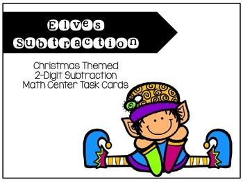 2-Digit Subtraction Task Cards