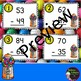 2 Digit Subtraction WITH regrouping (Gumball theme) Task Cards
