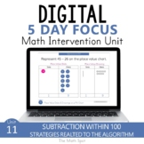 2 Digit Subtraction With Regrouping | 2nd Grade Digital Math Unit
