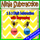 2 Digit Subtraction With Regrouping | 3 Digit Subtraction With Regrouping