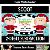"""2-Digit Subtraction With Regrouping -- """"We Wish You a Merry Christmas"""""""