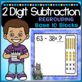 2 Digit Subtraction With Regrouping and Base 10 Blocks   Google Classroom