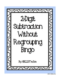 2-Digit Subtraction Without Regrouping Bingo