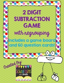 photograph about Subtraction With Regrouping Games Printable known as 2 Digit Subtraction With Regrouping Spouse Online games