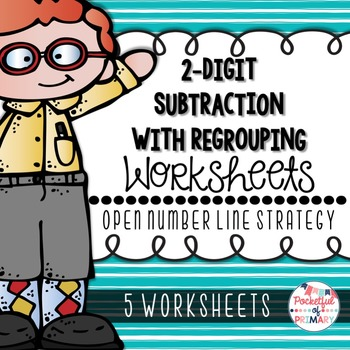 2 digit subtraction with regrouping worksheets pdf