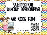 2 Digit Subtraction w/out Regrouping QR Code Fun!
