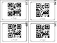 2 Digit Winter/January Task Cards with QR codes