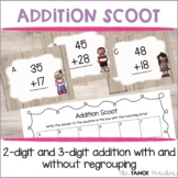 2 Digit and 3 Digit Addition Scoot