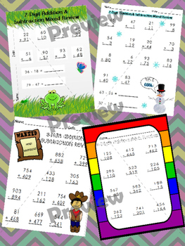 2-Digit and 3-Digit Addition & Subtraction Review