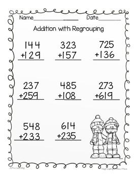 2 Digit and 3 Digit Addition and Subtraction with ...